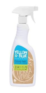 Yellow&Blue Octový čistič ve spreji (750 ml) - na sklo, keramiku, obklady a dlažbu