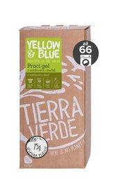 Yellow&Blue Prací gel s vavřínem (2 l) - z bio mýdlových ořechů