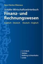 Schäfer Wirtschaftswörterbuch Finanz- und Rechnungswesen, Englisch-Deutsch, Deutsch-Englisch