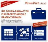 PowerPoint aktuell - Ihr Folien-Baukasten für professionelle Präsentationen, CD-ROM