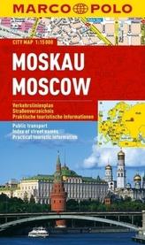 Marco Polo Citymap Moskau. Moscow