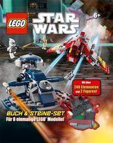 LEGO Star Wars Buch, m. LEGO-Steine-Set