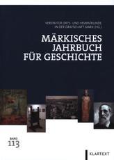 Märkisches Jahrbuch für Geschichte. Bd.113