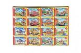 Minipuzzle Dopravní prostředky  54 dílků 16.5x11cm mix druhů