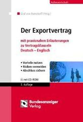 Der Exportvertrag, m. CD-ROM