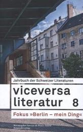 Viceversa Literatur. Bd.8