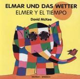 Elmar und das Wetter, deutsch-spanisch. Elmer Y El Tiempo