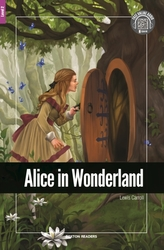 Alice in Wonderland - Foxton Reader Level-2 (600 Headwords A2/B1) with free online AUDIO