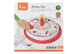 Dřevěné krájení - narozeninový dort