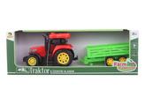 Traktor s přívěsem česky mluvící