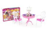 Glorie Stůl s křesílky