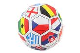 Fotbalový míč vlajky