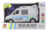 Auto policejní dodávka