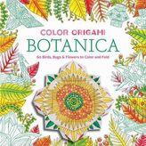 Color Origami: Botanica (Origami Coloring Book)