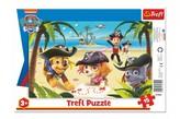 Puzzle deskové Přátelé z Tlapkové patroly/Paw Patrol 33x23cm 15 dílků