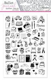 Razítka StampoBullet Journal - Můj den