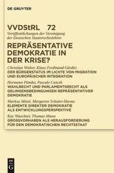 Repräsentative Demokratie in der Krise?