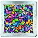 Puzzle 16 d. 3D Magnetické puzzle Motýli