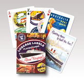 Poker -  Luggage Labels