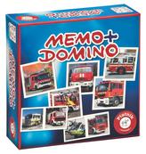 Pexeso&Domino-Hasičská auta (CZ)