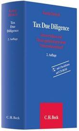 Tax Due Diligence, m. CD-ROM
