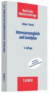 Interessenausgleich und Sozialplan