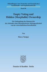 Empty Voting und Hidden (Morphable) Ownership
