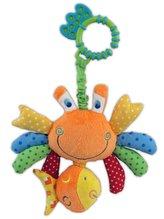 Plyšová hračka s vibrací  Baby Mix krab
