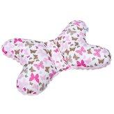 Stabilizační polštářek New Baby růžový motýlek
