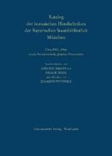 Die Handschriften aus den Klöstern Altenhohenau und Altomünster: Clm 2901-2966 sowie Streubestände gleicher Provenienz