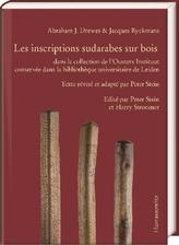 Abraham Drewes/Jacques Ryckmans, Inventaire des inscriptions sudarabes sur bois