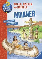 Indianer, Malbuch