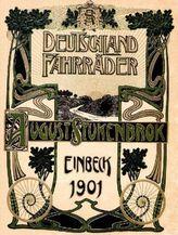 Stukenbrok - Illustrierter Hauptkatalog 1901 für Deutschland-Fahrräder und Zubehörteile, August Stukenbrok