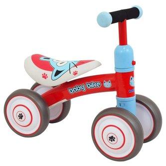 Dětské odrážedlo Baby Mix Baby Bike red