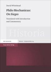 Philo Mechanicus: 'On Sieges'