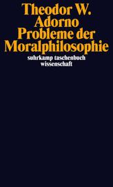 Probleme der Moralphilosophie