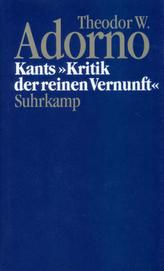Kants 'Kritik der reinen Vernunft' (1959)