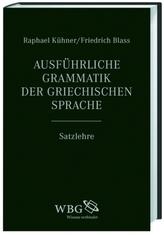 Ausführliche Grammatik der griechischen Sprache (Band II)