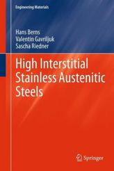 High Interstitial Stainless Austenitic Steels