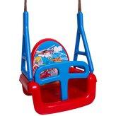 Dětská houpačka 3v1 car Swing red