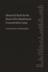 Memorial Book for the Dead of the Mauthausen Concentration Camp