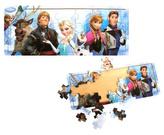 Dřevěné puzzle Ledové království