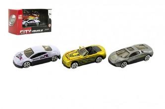 Auto sport kov 6cm mix druhů v krabičce