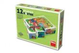 Kostky kubus Povolání dřevo 12ks v krabičce 16x12x4cm