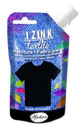 IZINK textilní barva - černá 80 ml
