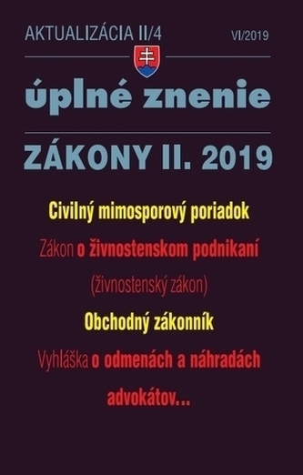 Aktualizácia II-4 2019