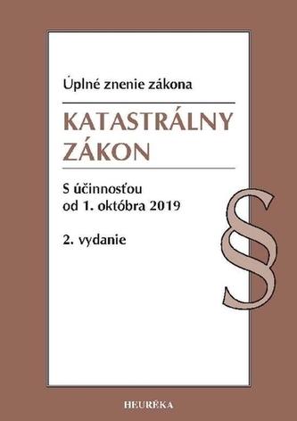 Katastrálny zákon. Úzz, 2. vydanie, 2019