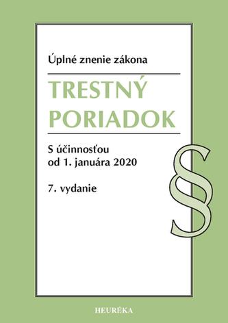 Trestný poriadok. Úzz, 7. vyd., 2020