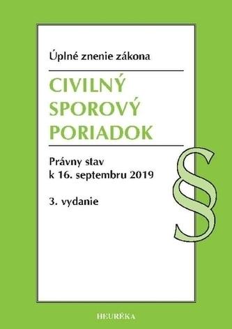 Civilný sporový poriadok. Úzz, 3. vydanie, 2019