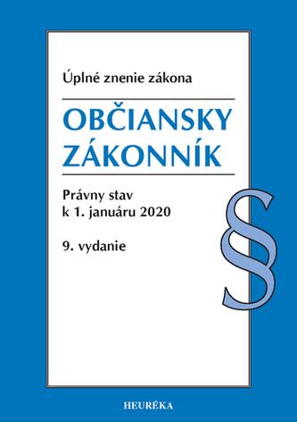Občiansky zákonník. Úzz, 9. vyd., 2020